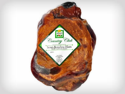 Naturally Hicokry Smoked Country Club Semi-Boneless Ham