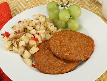 Fully Cooked Pork Sausage Patties, Chorizo