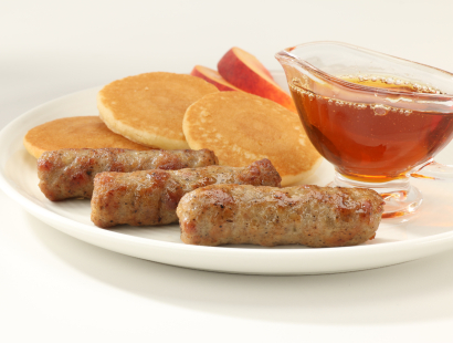 maple sausage patty links