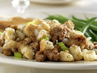 Pork Sausage Stuffing