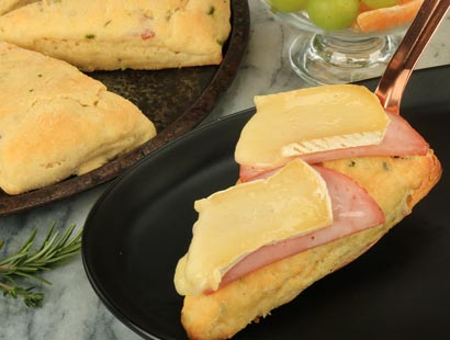 Bacon Herb Scones