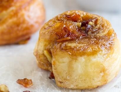 Bacon Honey Morning Buns Recipe