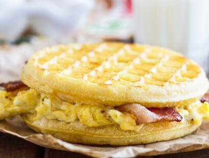 Bacon Waffle Panini