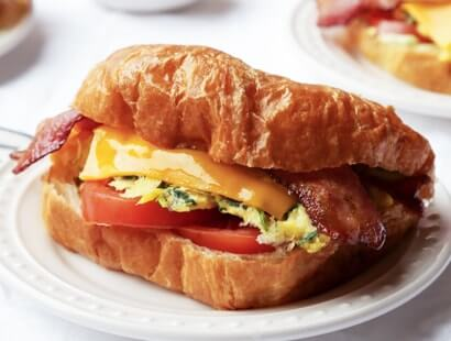 BLT Breakfast Sandwiches