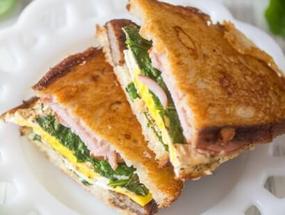 Breakfast Sausage Grilled Cheese Sandwiches Recipe
