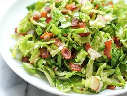 Brussels Sprouts and Bacon Salad Recipe