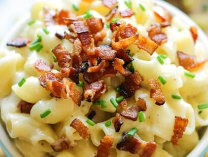 Gruyère Bacon Mac & Cheese