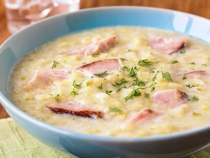 Ham Potato and Leek Soup Recipe