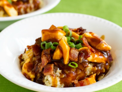 Loaded Poutine Breakfast Casserole