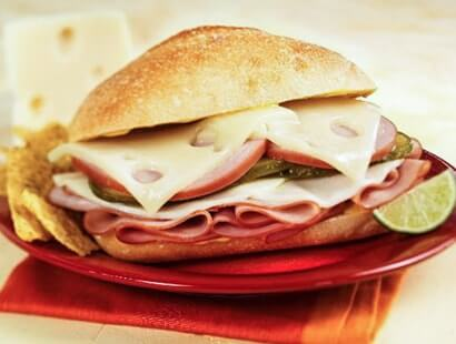 New Cuban Ham & Cheese Sandwich