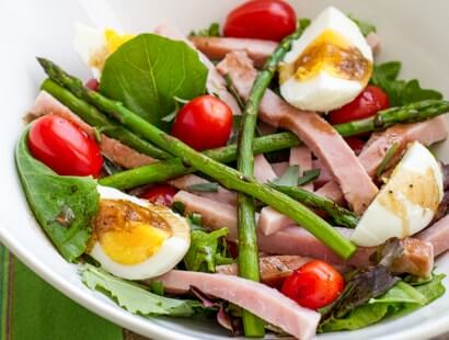 Smoked Ham and Asparagus Salad Recipe