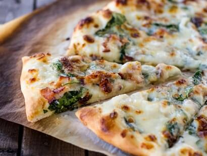Spinach Bacon Ranch Pizza Recipe