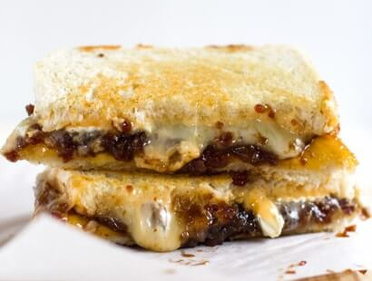 Ultimate Grilled Cheese with Bacon Jam Recipe