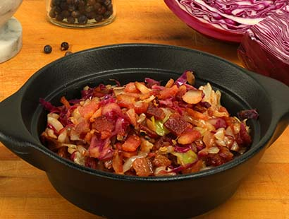 Alsatian Braised Cabbage