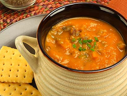 Sweet Potato & Sausage Soup