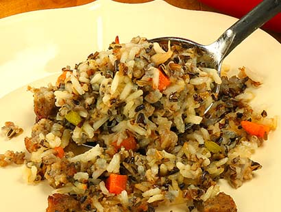 Sausage and Wild Rice Pilaf#1 web