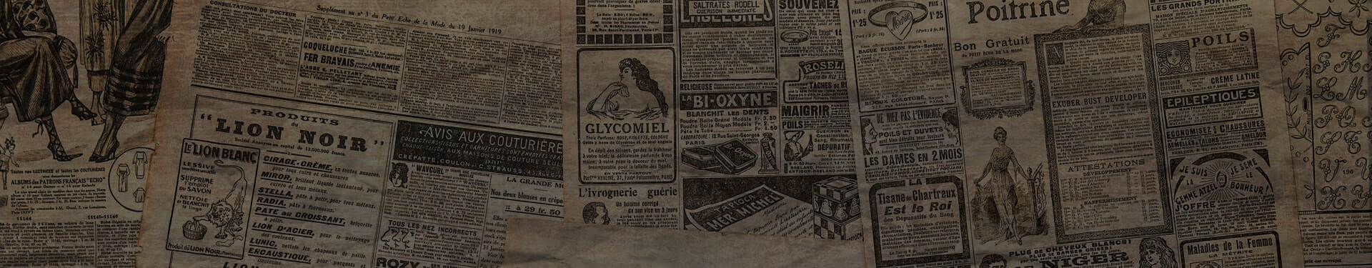 Newspaper Clippings From 1903 Featuring Jones Dairy Farm