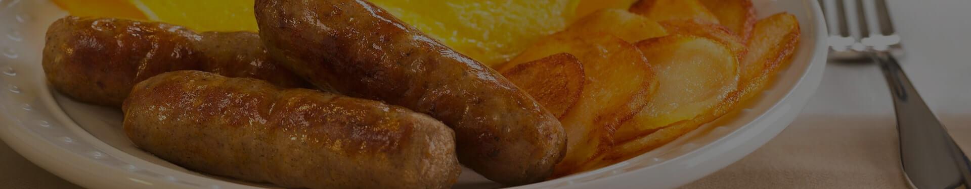 Plated Jones Breakfast Sausage Links